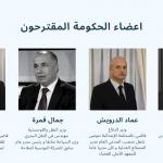 السير الذاتية وصور كل أعضاء الحكومة المُقترحين
