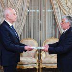 سعيّد يتسلّم أوراق اعتماد سفير إيران بتونس