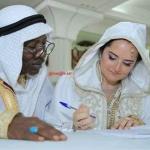 المُغنّي ''ألفا بلوندي'' يعقد قرانه على تونسيّة (صور وفيديو)