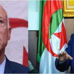 قيس سعيّد يصل الى الجزائر في زيارة دولة