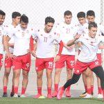 كأس العرب: المنتخب ينهي تحضيراته لمباراة الجزائر