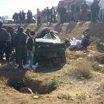 القصرين: مصرع 4 مُعلمات وطفلة في حادث مرور مروّع (صور)