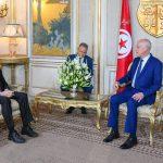 سعيّد يدعو الولايات المتحدة لدعم مسار حلّ سياسي سلمي بليبيا