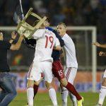 إيقاف لاعب فرنسي عضّ خصمه في مكان حسّاس