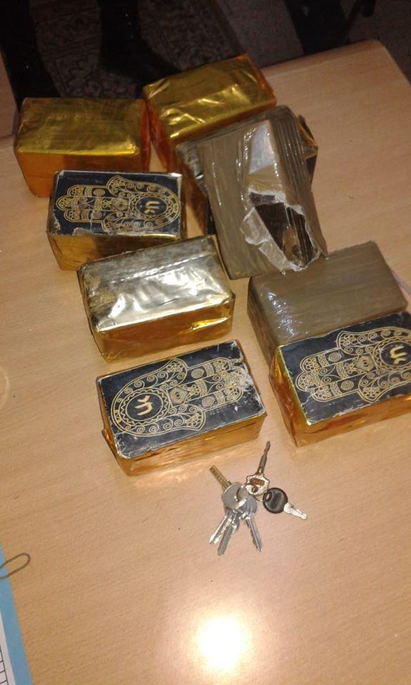 """القصرين: الديوانة تحجز 10 كلغ من """"الزطلة"""" على متن سيارة أجرة"""