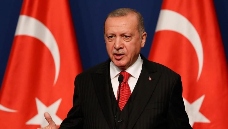 أردوغان يعترف بوجود مُقاتلين سوريين إلى جانب قوات تركيا بليبيا