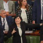 البرلمان : مُلاسنات وتبادل للشتائم بين كتلة عبير موسي ونائب من النهضة