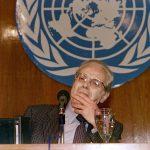 وفاة الأمين العام الأسبق للأمم المتحدة خافيير دي كويار