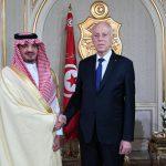 سعيّد يستقبل وزير الداخلية السعودي
