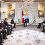 """سعيّد:""""تونس تقبلُ ما يقبل به الجانب الفلسطيني وترفض ما يرفض"""""""