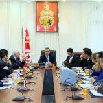 وزير الصحة يجتمع بـ ر. م. ع الصيدلية المركزية ومدير مخبر مراقبة الأدّوية