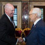 الغنوشي يستقبل مساعد وزير الخارجية الأمريكي