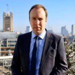بعد رئيس الوزراء: اصابة وزير الصحة البريطاني بفيروس كورونا