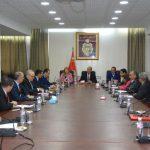 خلال جلسة بين 3 وزراء : تأكيد على توفير مقرات للحجر الصحي الاجباري