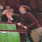اتهمت الغنوشي والنواب: سامية عبو تُمزق الوثيقة وتُغادر الجلسة
