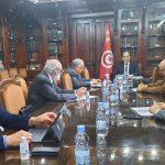 حضر النابلي وغاب بن حمودة : وزير المالية يلتقي 6 خبراء اقتصاد