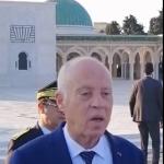 سعيّد في روضة اَل بورقيبة: سيكتب التاريخ دور الزعيم بتونس قبل وبعد الاستقلال
