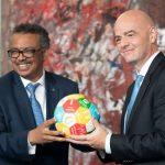 منظمة الصحة العالمية توصي بعدم استئناف نشاط كرة القدم