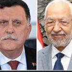 حكومة الوفاق : الغنوشي هنأ السراج بالسيطرة على قاعدة الوطية العسكرية
