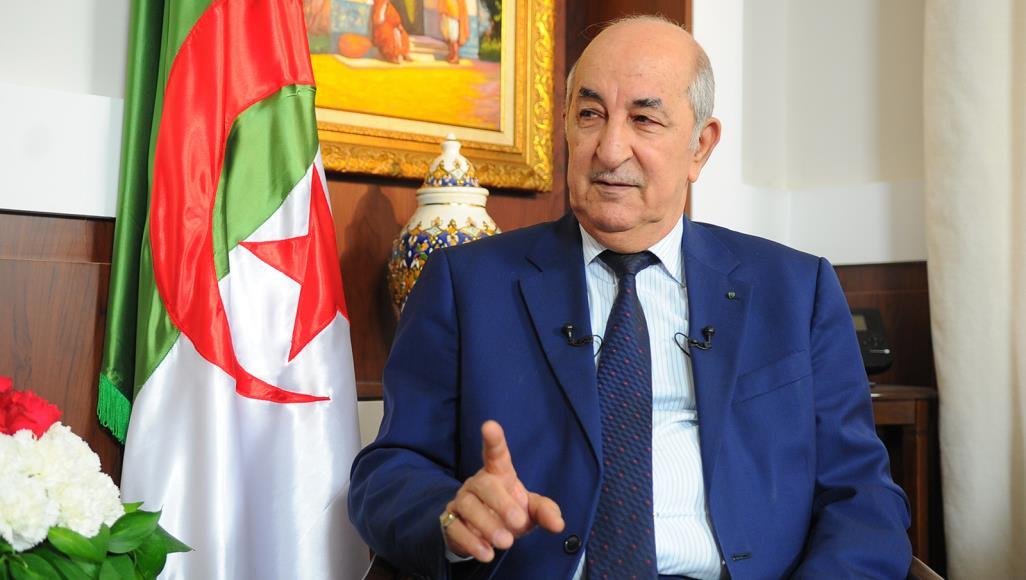 تبون يُلوح بتدخل الجزائر عسكريا في ليبيا ويُؤكد أن بلاده مع الشرعية الشعبية
