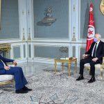 الرئاسة : سعيد والفخفاخ تطرقا لسلسة حرائق مُتزامنة شهدتها البلاد