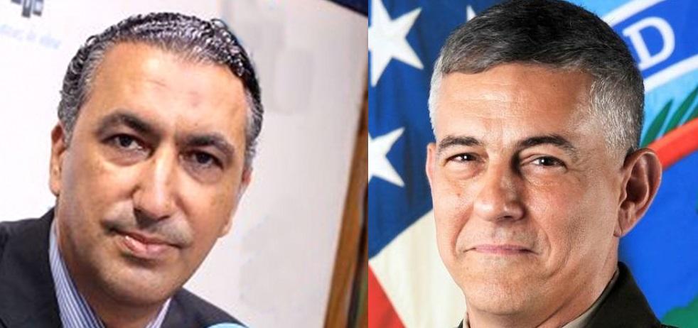"""قائد """"أفريكوم""""لوزير الدفاع: مُستعدّون لدعم قدرات المؤسسة العسكرية التونسية"""