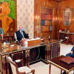 وزير الدفاع يُطلع سعيّد على استعدادات الجبش لتأمين الحدود