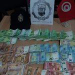 الديوانة: حجز حوالي مليار ونصف من العملة الأجنبية وصفيحتي ذهب بالصخيرة (صور)