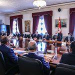 اجتماع بين الفخفاخ ومنظمة الأعراف حول خطة الانعاش الاقتصادي