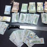 بن قردان: إيقاف شخصين وحجز ساطور وعملة صعبة قيمتها 100 ألف دينار