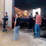 سليانة: السيطرة على حريق أتى على4000 حزمة تبن و900 كيس شعير