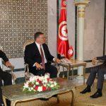 وزير الخارجية يلتقي سفيري أمريكا بتونس وليبيا