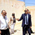 """في زيارته إلى مدنين وتطاوين: وديع الجريء يرتدي عباءة """"الرئيس"""""""