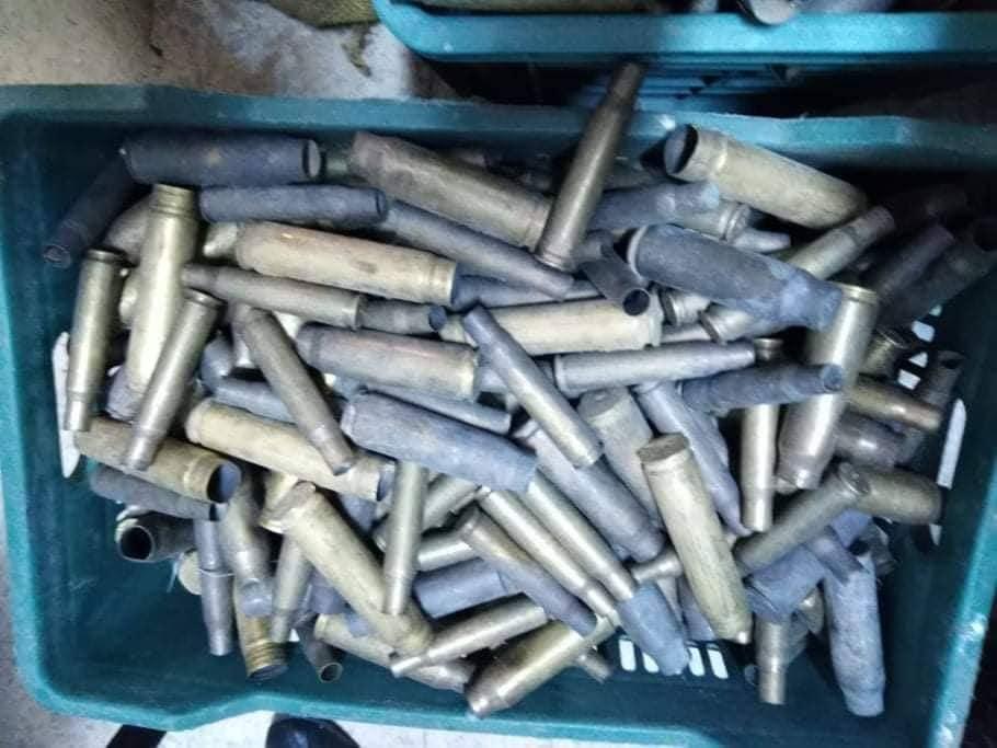 الديوانة: حجز 2250 ظرفا لذخيرة مختلفة الأعيرة (صور)