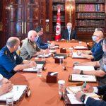 قيس سعيّد يجتمع بالمجلس الأعلى للجيوش