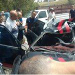 فرنانة: مقتل شخصين وإصابة 8 اَخرين في حادث مرور (صور)