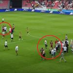 الجماهير اعتدت على اللاعبين: بطل هنغاريا يغادر الدوري! (فيديو)