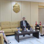 وزارة العدل: استرجاع الأموال المنهوبة محور لقاء الجريبي بسفير سويسرا