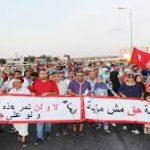 """المرناقية: يوم غضب واضراب عام احتجاجا على """"الصوناد"""" (فيديو)"""