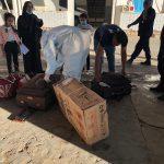 الديوانة: إحباط محاولة تهريب بنادق صيد أثناء إجلاء مسافرين من معبر راس جدير (صور)