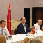 تحيا تونس : تفويض الشاهد والعزابي وبن احمد لاستكمال المشاورات
