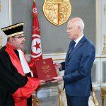 قيس سعيّد يتسلّم التقرير السنوي لمحكمة التعقيب