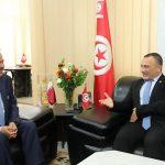 سفير قطر بتونس في ضيافة أحمد قعلول