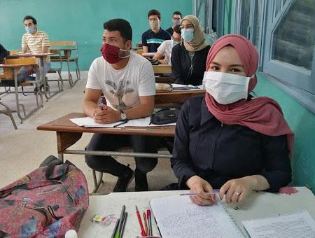 تفاصيل إجراءات الوقاية الصحيّة في الامتحانات الوطنية