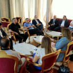 إجتماع تنسيقي بين الكتلة الديمقراطية والكتلة الوطنية