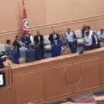 موسي: الغنوشي انتهك حرمة البرلمان وطلب فك اعتصامنا بالقوة العامة