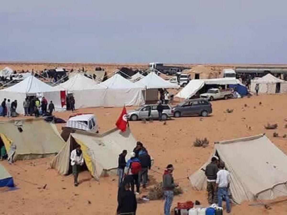 """الوفد الحكومي غادر وسط هتافات""""ديقاج"""": فشل التفاوض مع تنسيقية الكامور"""