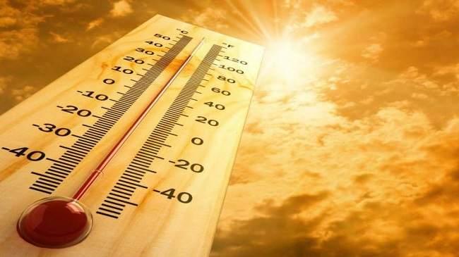 """طقس اليوم: """"شهيلي"""" والحرارة تصل الى 44 درجة"""