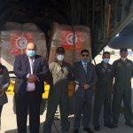 مستشار وزير الصحة اللبناني ومدير عام الوزارة يستقبلان المساعدات التونسية (صور)
