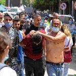 مظاهرات بيروت: مقتل أمني وإصابة 142 شخصا في اشتباكات مع الشرطة